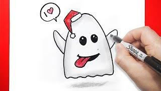 | ghost emoji | رسم إموجي الفايسبوك الشبح بالخطوات | رسم فيسات