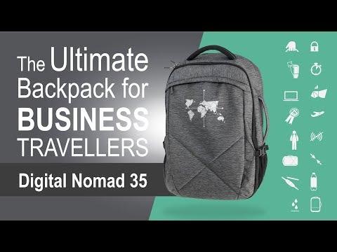 Digital Nomad 35 - The Ultimate Backpack for Business Travellers