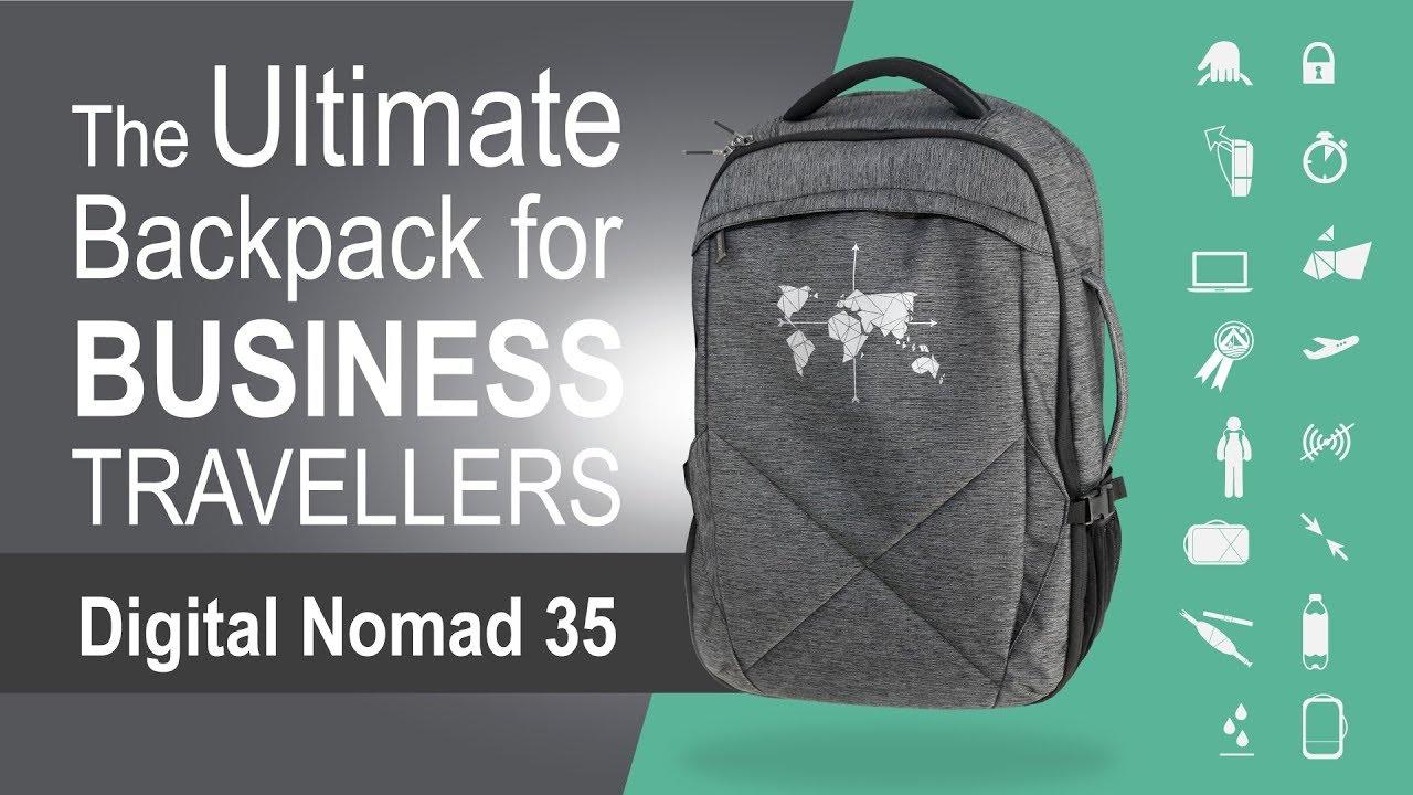 6b8bab1d4 Digital Nomad 35 - The Ultimate Backpack for Business Travellers ...