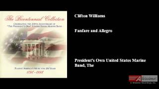 Clifton Williams, Fanfare and Allegro