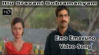 emo emavuno full video song itlu sravani subramanyam movie ravi teja tanu roy samrin