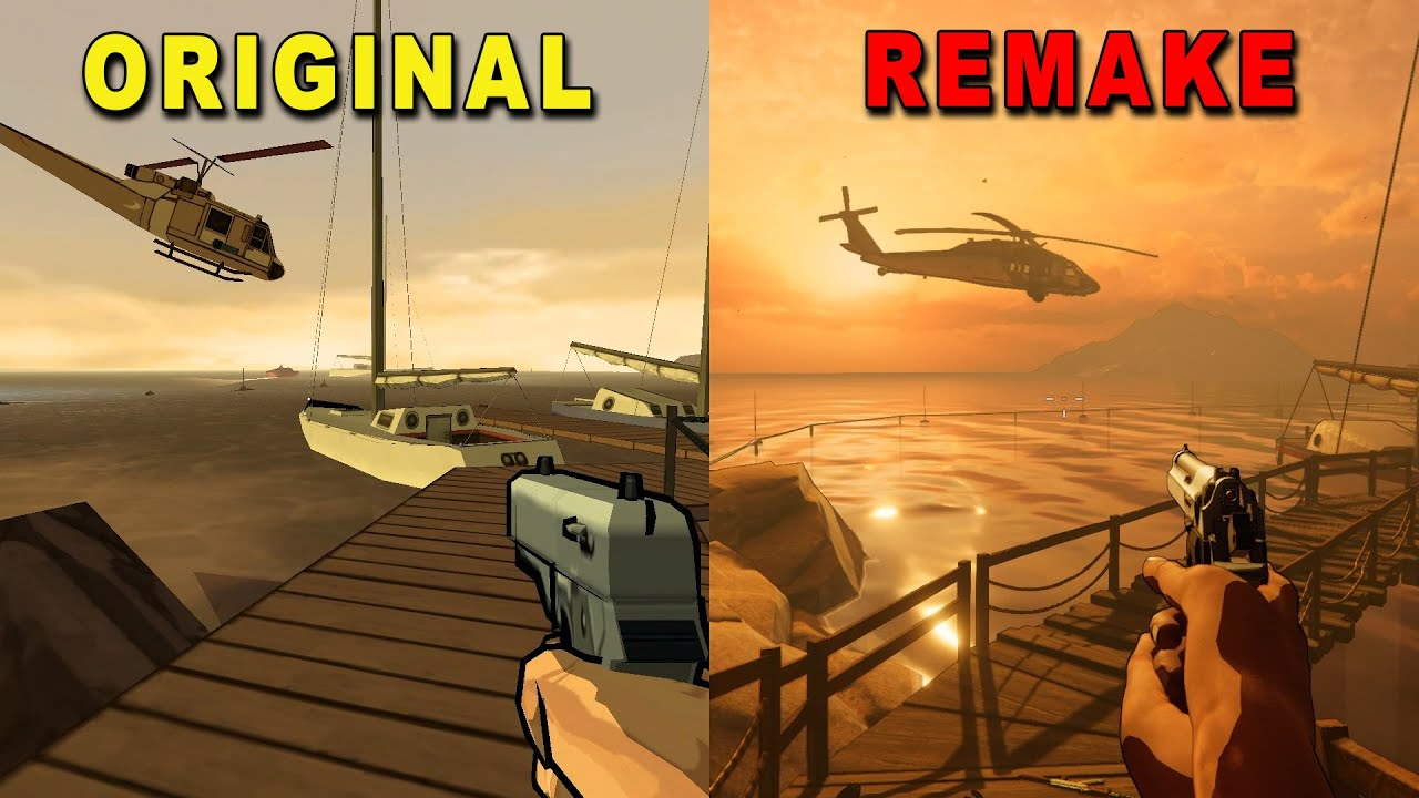 XIII - Original (2003) vs Remake (2020) Comparison