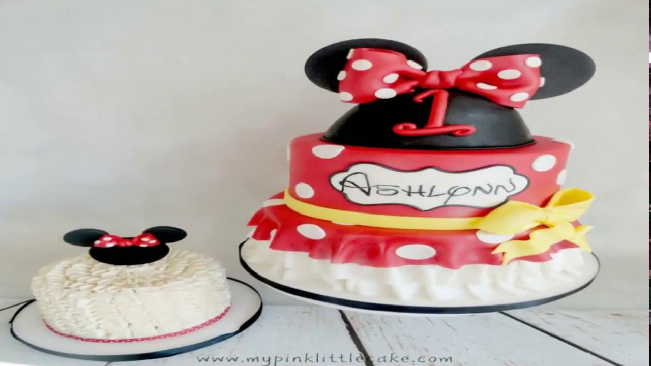 Nice Minnie Mouse Baby Shower Cake Ideas Youtube