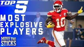 Top 5 Most Explosive Players in the NFL | NFL Highlights
