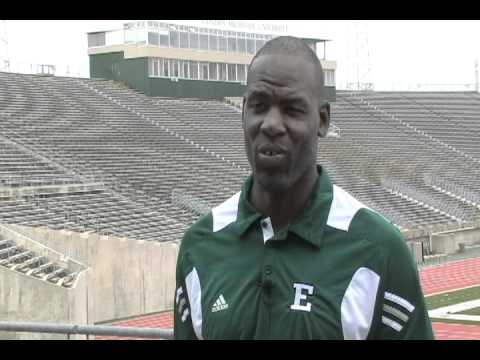 Head Coach Interview: Football's Ron English