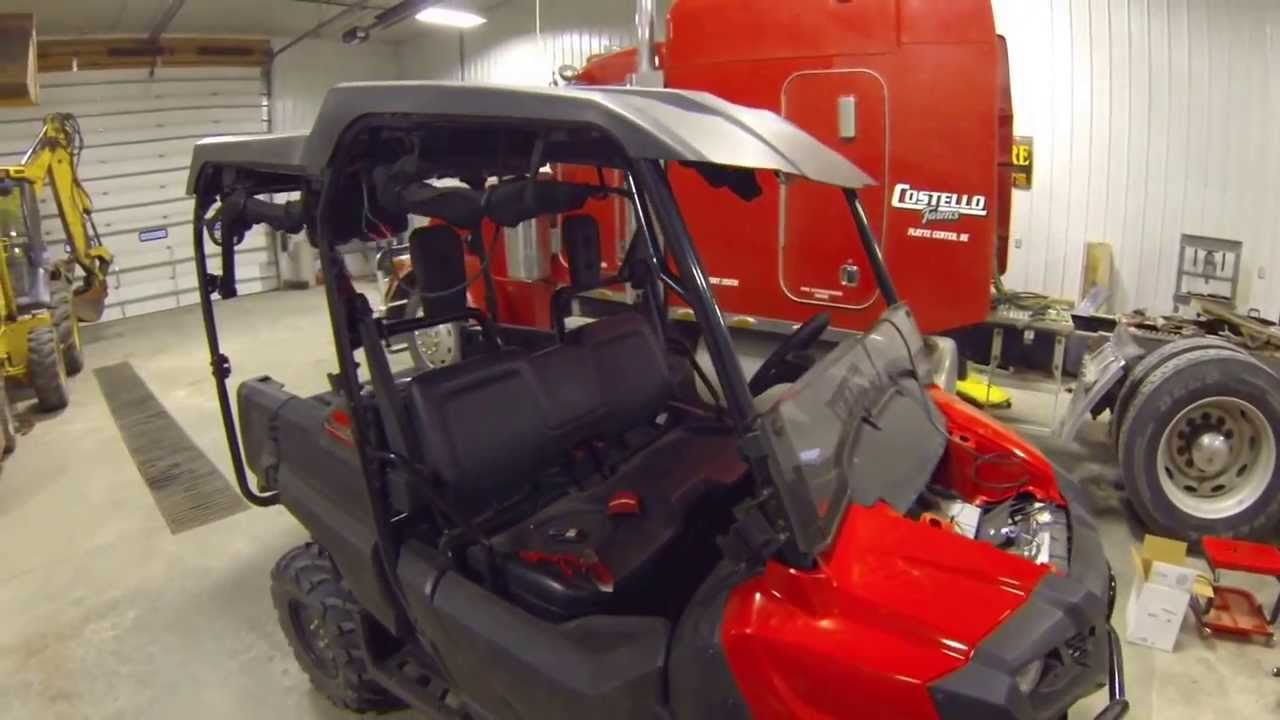 2014 Honda Pioneer Stereo Updated