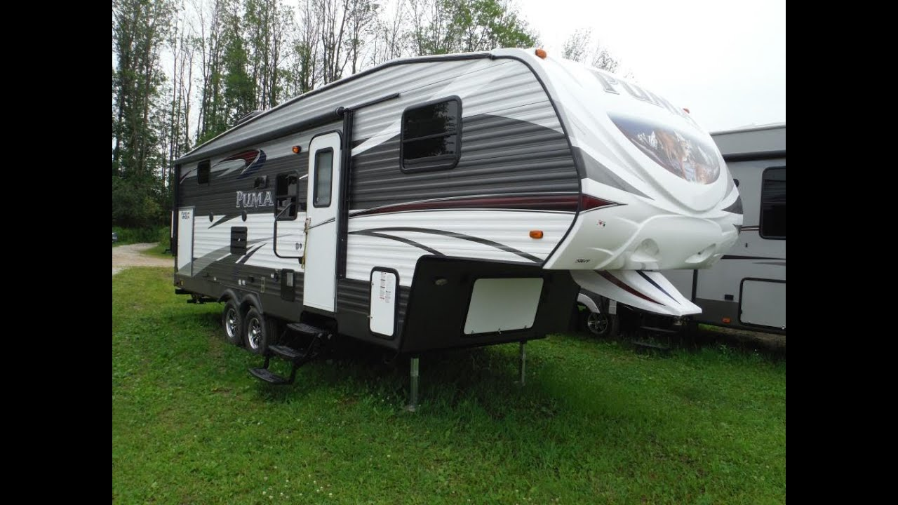 2016 Puma 259rbss 5th Wheel Trailer With Bunkbeds Camp Out Rv In