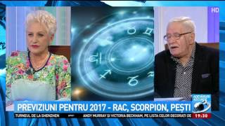 Horoscop Mihai Voropchievici 2017. Ce urmează pentru Rac, Scorpion și Pești