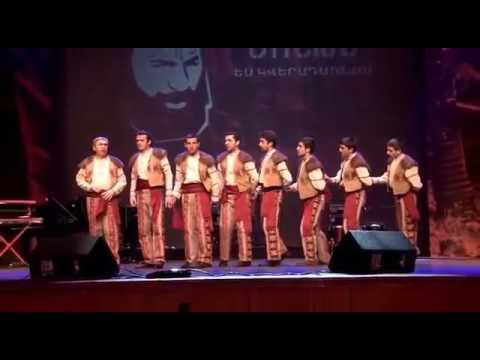 Armenian War Dance 'Yarkhushta' From Shatakh Military Dance In Tribute To Commander Monte Melkonian
