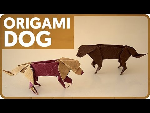 download origami dog from youtube