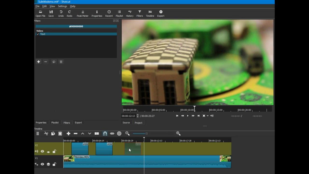 Shotcut video editor adding subtitles youtube shotcut video editor adding subtitles ccuart Images