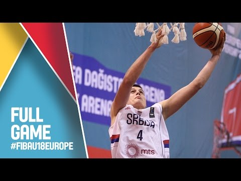 Serbia v Israel - Full Game - CL 9-16 - FIBA U18 European Championship 2016