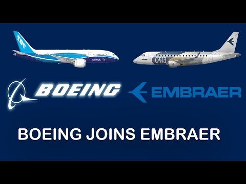 Boeing JOINS Embraer
