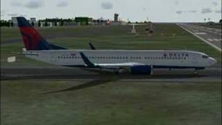 Delta 658 departs Barbados to Atlanta