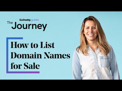 How to List Domain Names for Sale