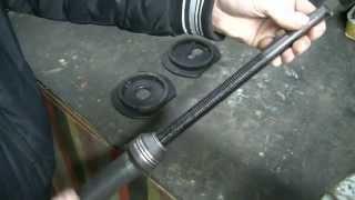 Приспособление для сжатия передних пружин. ВАЗ Классика. Обзор.