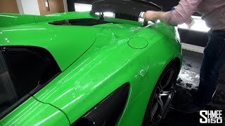 650S Paint Protection Film at Topaz Detailing London