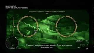 Sniper Ghost Warrior 2 HD Gameplay Walkthrough PS3 / X360 / PC Act 1 Mission 2 Expert Difficulty P1