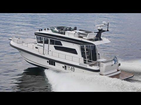 Морская яхта Nord Star 49 SCY | Моторная яхта для дальних путешествий