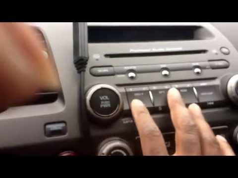 06-11 Honda civic factory radio code *updated*