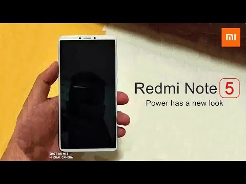Xiaomi Redmi Note 5 - ANOTHER BEZELLESS WONDER