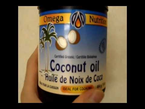 A review of Omega Nutrition certified organic virgin coconut oil Tutorial