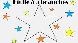 Plus adapté Comment dessiner facilement une étoile à 5 branches ? - YouTube NN-65