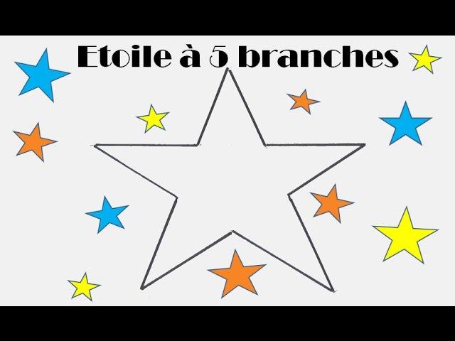 Comment Dessiner Facilement Une étoile à 5 Branches