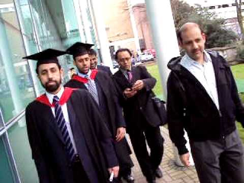 Bedfordshire University Graduation ceremony, Mr. Amjad and Mr ...