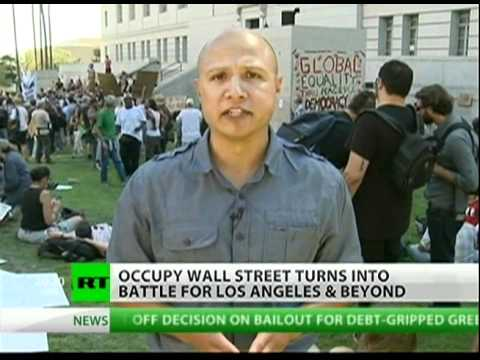 OccupyLA, The anti-corporation movement is growing