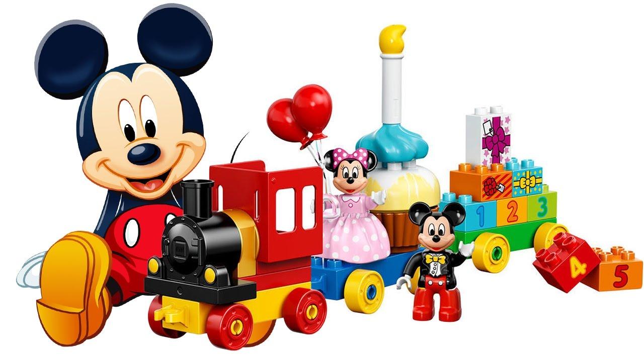 Topolino italiano costruiamo il trenino di topolino e minnie