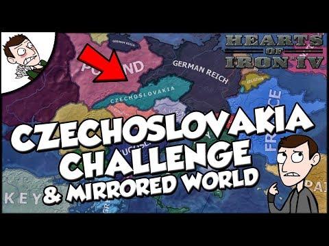 Hearts of Iron 4 hoi4 Czechoslovakia Democratic Challenge and Mirrored World Mod