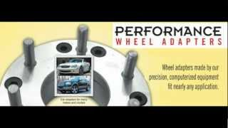 Wheel Adapters - 904-721-1081 - Performance Wheel Adapters