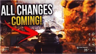 ALL CHANGES COMING TO WEEK 2 OF THE CALL OF DUTY®: WWII PRIVATE BETA! (NEW GUNS, MAPS, & MORE)