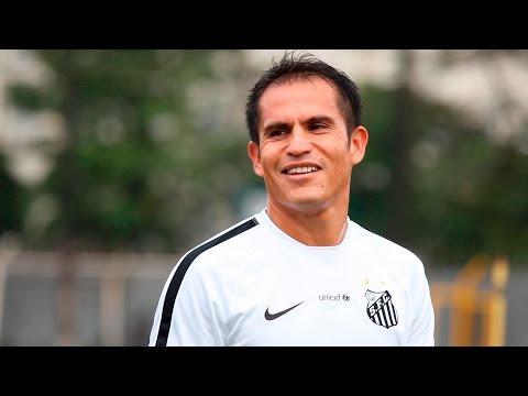 Ledesma faz seu primeiro treino no Santos FC