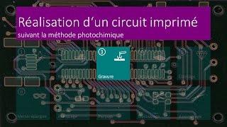 Réalisation d'un circuit imprimé - 03 Gravure - FR HD