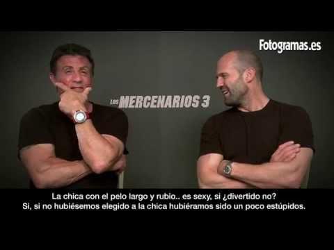 'Los Mercenarios 3': Entrevista a Sylvester Stallone y Jason Statham