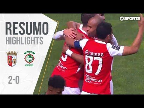 Highlights | Resumo: Sp.Braga 2-0 Marítimo (Allianz Cup 18/19 #15)