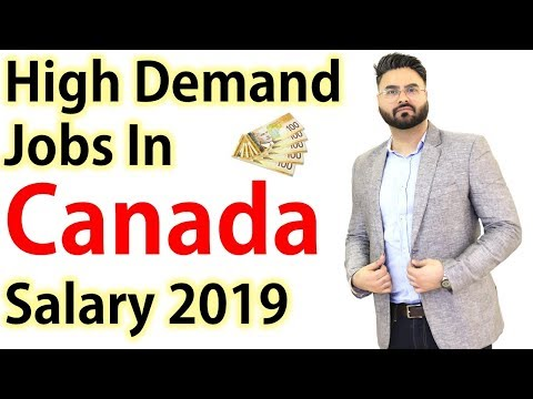 High Demand Jobs In Canada With Salary In 2019 | Canada Couple