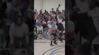 Trae Young Hits Game-Winner Over Trash Talker At OKC Skinz League 🥶❄️ #shorts