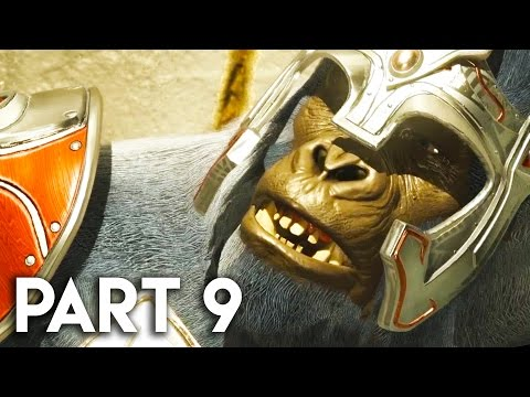 Injustice 2 Gameplay Walkthrough Part 9 - STORY MODE CHAPTER 10 (PS4 PRO)