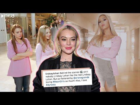 Lindsay Lohan HATES Ariana Grande