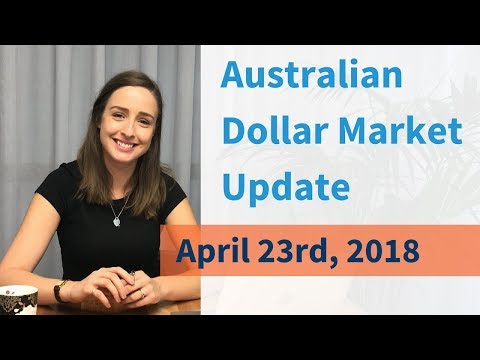 Australian Dollar Market Update (April 23rd, 2018)