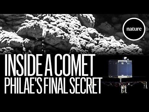 La desconocida historia de Philae en la 'calavera' de un cometa