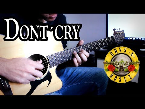 Don't Cry Solo – Guns 'N Roses – Acoustic Guitar Cover (Versão Acústica)