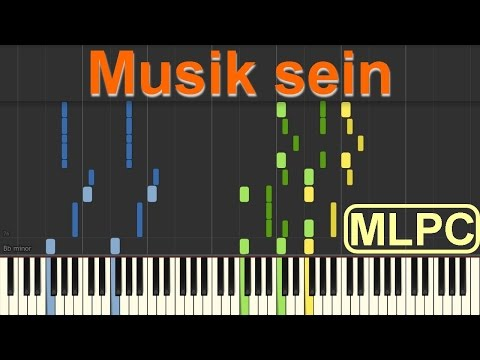 Wincent Weiss - Musik sein I Piano Tutorial by MLPC