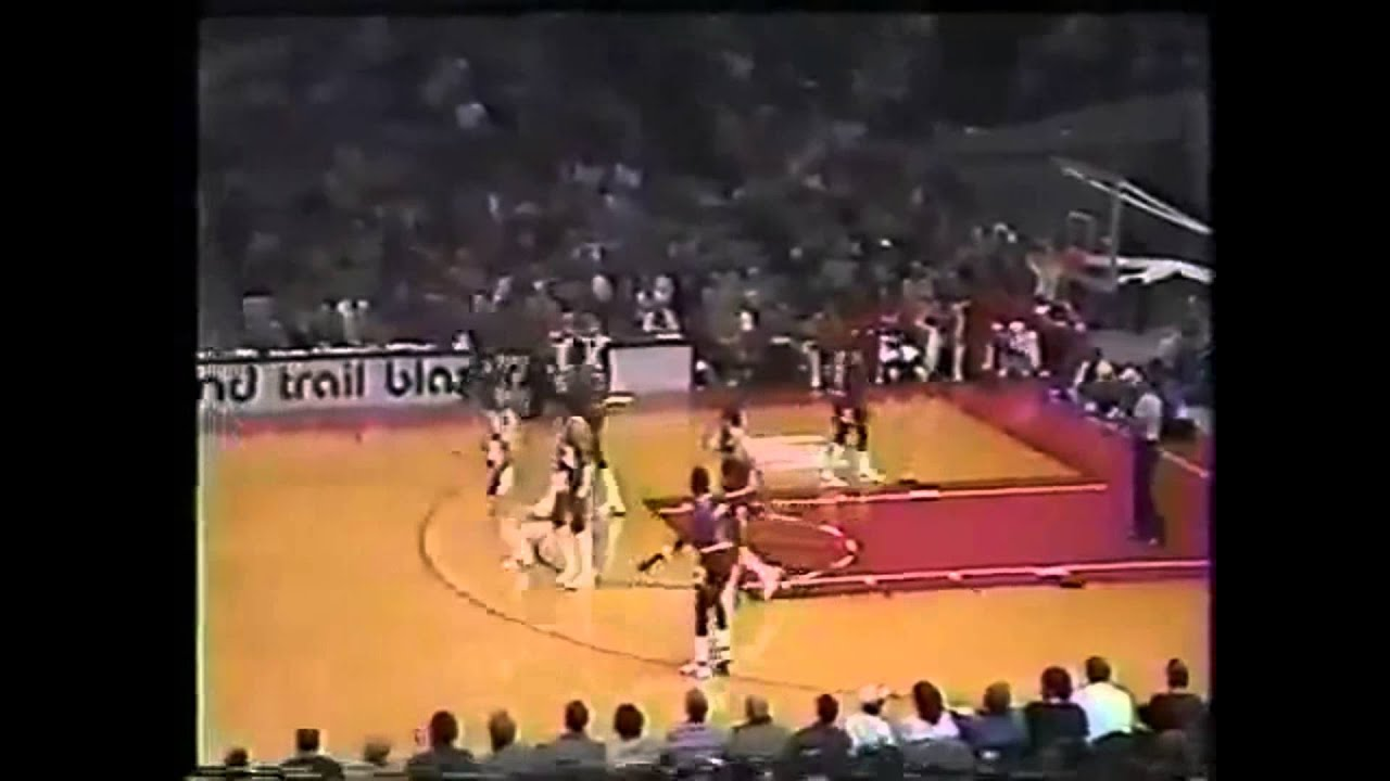 Jim Paxson & Kiki Vandeweghe Vs Quintin Dailey & Michael Jordan