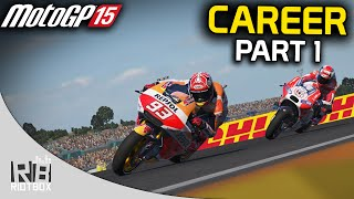 MotoGP 15 Career Mode Part 1: Wildcard Races (PC Gameplay)