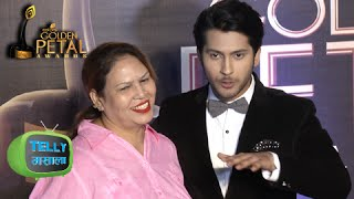 (Video) Namish Taneja Shares His Love For His Mother | Golden Petal Awards 2016 | Red Carpet