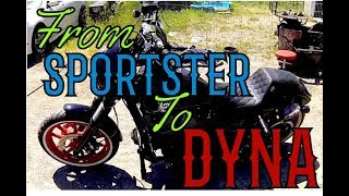 What to expect when switching to Dyna from Sportster.
